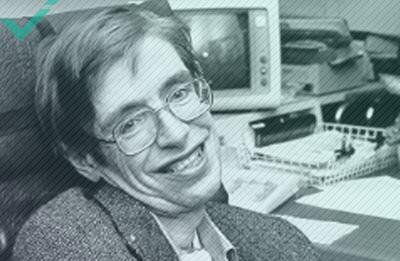 Stephen Hawking, scrittore, fisico teorico, cosmologo (1942-2018)