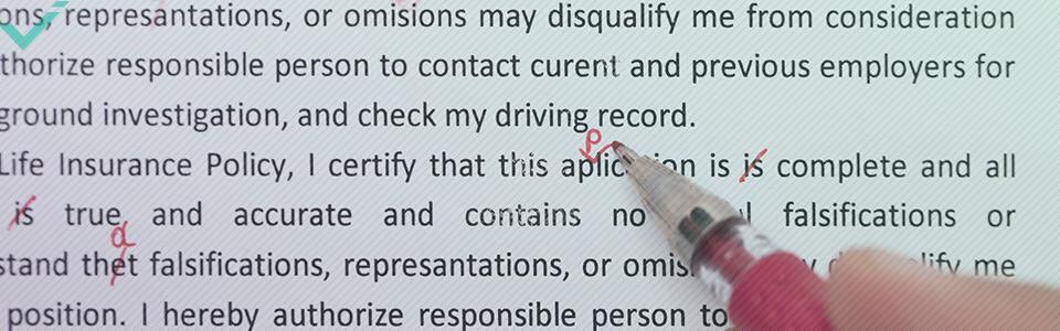Qualcosa che spesso le persone non hanno ben chiara è la definizione esatta di revisione del testo.
