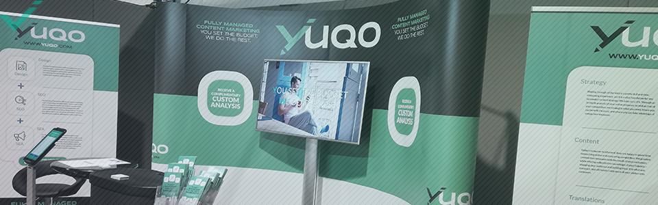 Questo è il motivo per cui era fondamentale che Yuqo partecipasse all' eCommerce Show North.