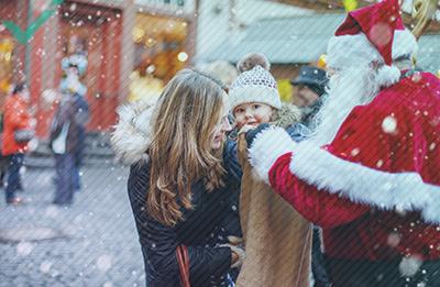 La strana (e talvolta oscura) storia di Babbo Natale in Europa