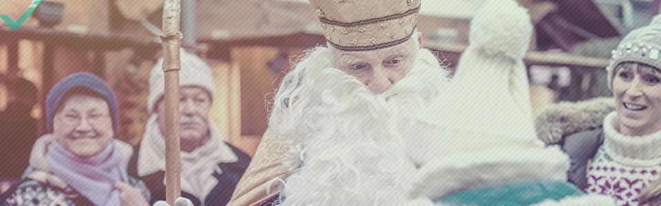 Babbo Natale in Europa: der Weihnachtsmann, Christkind, Nikolaus, e Krampus