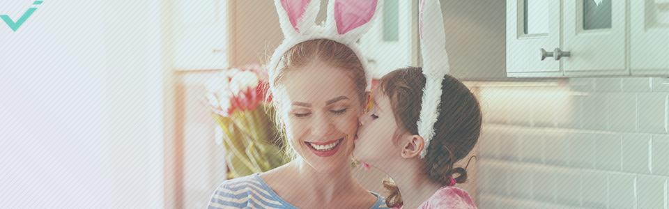 La Pasqua è un grande evento nel Regno Unito.